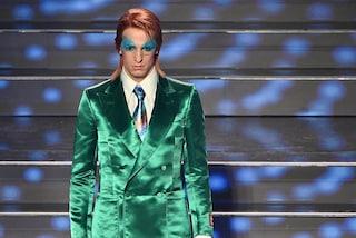 Achille Lauro a Sanremo 2021 per giocare ancora: nei suoi quadri il bisogno di essere liberi