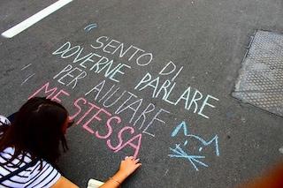 Da New York a Palermo, le molestie diventano scritte colorate sull'asfalto