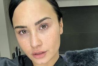 Demi Lovato sui social senza trucco: questa sono davvero io