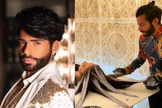 Federico Fashion Style, il nuovo trattamento si fa a letto: così tinge i capelli come un quadro