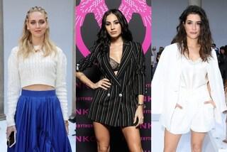 Tutte le star alle sfilate della Milano Fashion Week, dalla De Lellis sexy a Will Smith col piumino