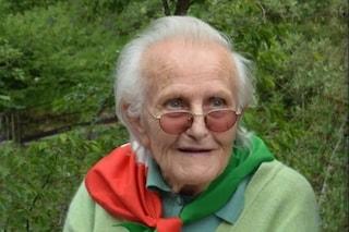 Addio a Piera Vitali, la partigiana che ha rivendicato la forza delle donne in epoca fascista
