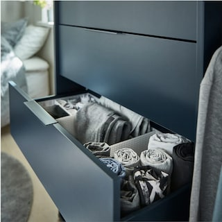 Come tenere in ordine i cassetti della biancheria
