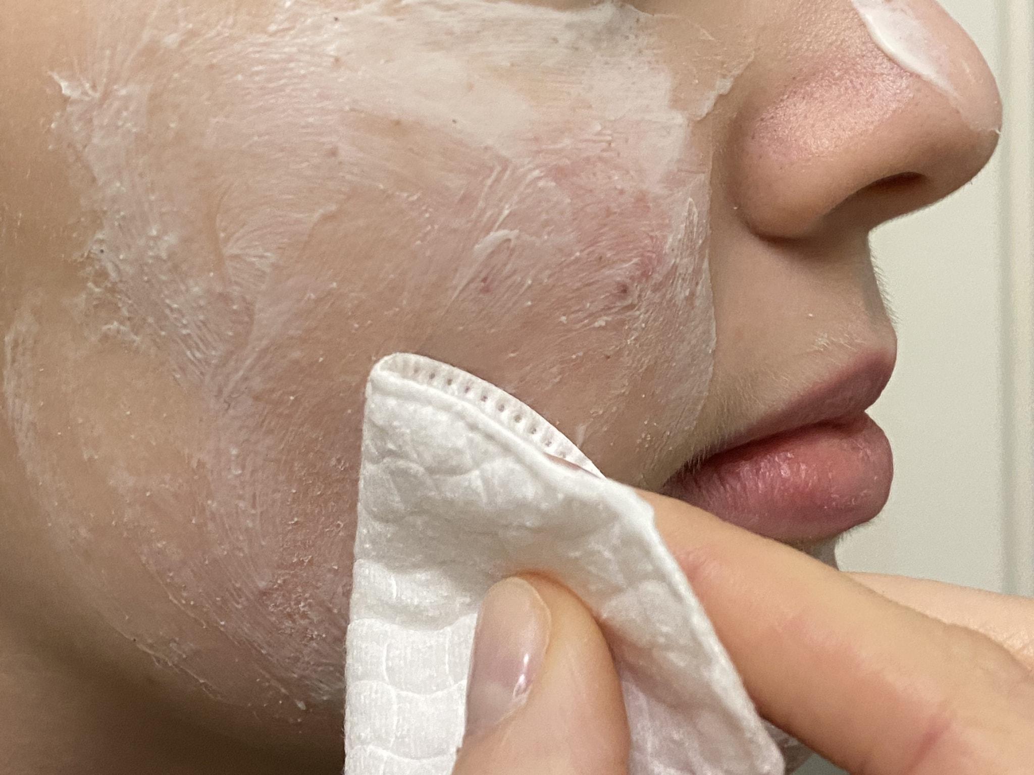 maschera viso come applicarla