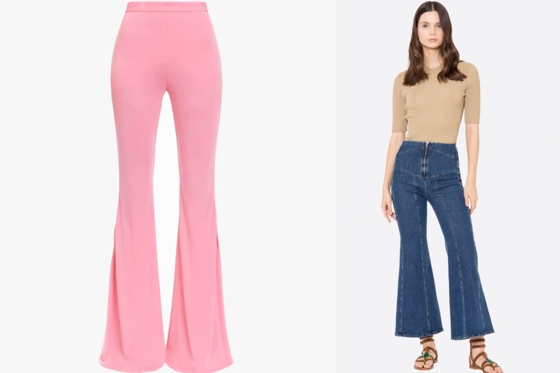 Anni 70 Colori jeans e pantaloni a zampa, la tendenza della primavera