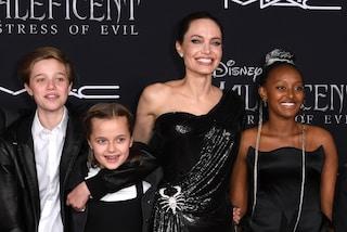 """Angelina Jolie, la forza di una mamma: """"Per le mie figlie ho passato 2 mesi nei reparti chirurgici"""""""