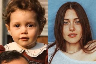 """Camihawke da piccola, ha sempre avuto i capelli rossi ma il colore degli occhi è """"cambiato"""""""