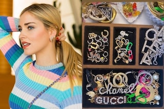 Chiara Ferragni mostra la collezione di accessori: orecchini e fermagli valgono quasi 15mila euro