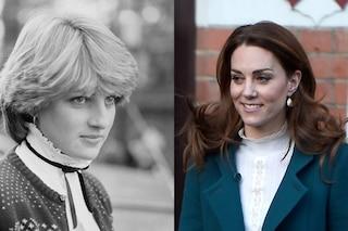 Kate Middleton e la passione per il colletto arricciato: il dettaglio di stile dedicato a lady D