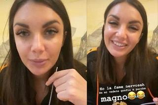 """Elettra Lamborghini contro Striscia La Notizia: """"Non ho rifatto il naso e ho messo su 5 kg"""""""