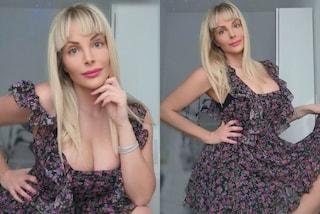Francesca Cipriani con la frangetta: cambia look tagliandosi i capelli da sola