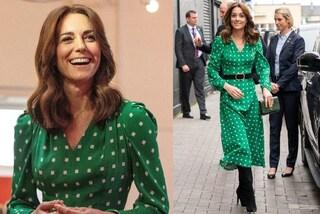 Kate Middleton tra pois e look in verde: il viaggio in Irlanda è all'insegna del lusso