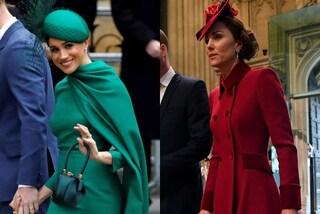 Meghan Markle punta sul verde, Kate Middleton ricicla: l'ultima sfida di stile tra le principesse