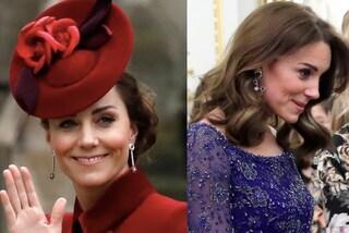 Kate Middleton indossa dei nuovi orecchini preziosi: sono regali di nozze ricevuti nel 2011