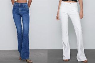 Jeans e pantaloni a zampa, la tendenza della Primavera/Estate 2020 che arriva dagli anni '70