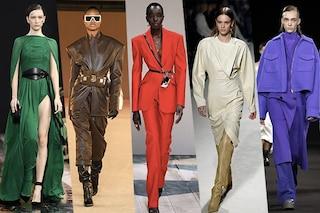 I 7 colori di moda dalle sfilate Autunno/Inverno 20-21: dal rosso acceso al crema e al viola
