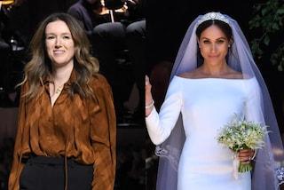 """Meghan Markle, la stilista ricorda l'abito da sposa a 2 anni dalle nozze: """"Ho capito le sue emozioni"""""""