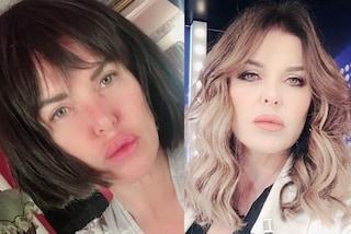 """Alba Parietti con capelli corti e frangia è sempre più irriconoscibile: """"Sembri un'altra persona"""""""