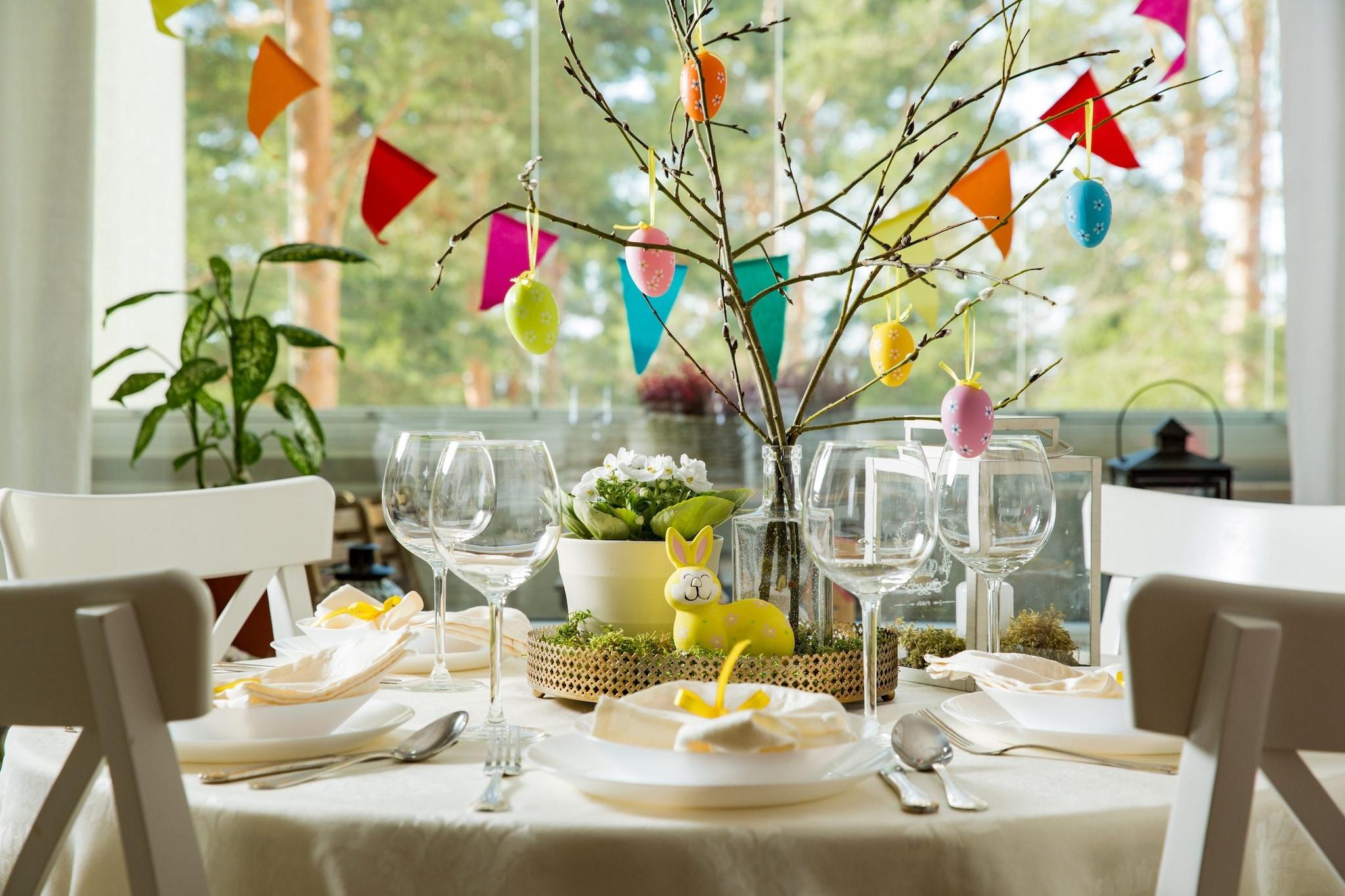 Come Addobbare Un Tavolo Per Confettata decorazioni di pasqua: 6 idee di addobbi fai da te per la casa