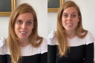 Beatrice di York imita Kate: look low-cost per la prima videochat dopo l'annullamento delle nozze