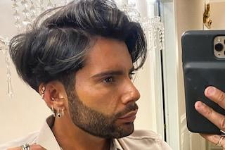 Federico Fashion Style cambia look in quarantena: schiarisce i capelli con dei colpi di luce