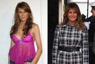 Melania Trump compie 50 anni, l'evoluzione di stile della modella diventata First Lady