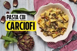 Il menù alternativo per Pasqua 2020: la ricetta della pasta ai carciofi di Sonia Peronaci
