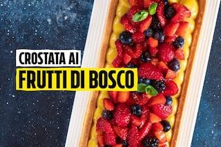 Crostata ai frutti di bosco, la ricetta alternativa di Sonia Peronaci per il menù di Pasqua 2020