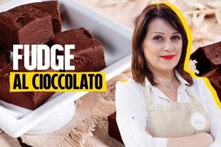 La ricetta dei fudge al cioccolato di Sonia Peronaci, il dolce americano facile e goloso