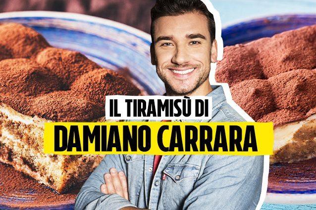 Ricetta Tiramisu Damiano Carrara.Tiramisu Con Savoiardi Fatti In Casa Come Preparare Il Dolce Con La Ricetta Di Damiano Carrara