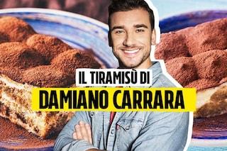 Tiramisù con Savoiardi fatti in casa: come preparare il dolce con la ricetta di Damiano Carrara