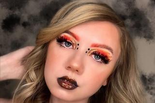Sopracciglia colorate, abbinarle al make-up è la tendenza beauty più originale della primavera 2020