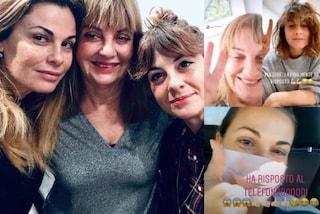 Vanessa Incontrada in videochat con mamma e sorella: così non sente la loro mancanza in quarantena