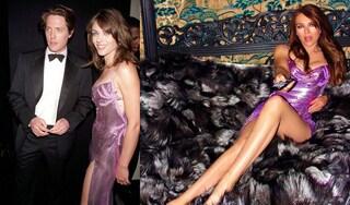 Liz Hurley ferma il tempo e indossa lo stesso abito sfoggiato 21 anni fa