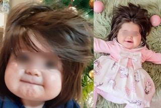 Gabriela, l'adorabile bambina capellona: a un anno la mamma l'ha soprannominata Rapunzel