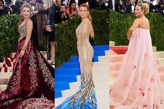 Blake Lively rivela il segreto dei suoi look da Met Gala: li abbina sempre al colore del red carpet
