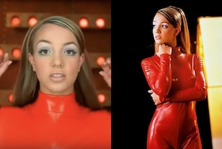 "Britney Spears in ""Oops! I Did It Again"": la storia della tutina rossa che l'ha resa una bomba sexy"