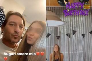 Chanel Totti compie 13 anni, festa in casa tra palloncini neri e dolci dediche dei genitori