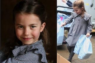 La principessa Charlotte compie 5 anni e festeggia facendo volontariato, sulle orme di mamma Kate