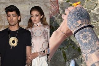 Gigi Hadid e Zayn Malik, i nuovi bracciali coordinati sono un omaggio al figlio in arrivo