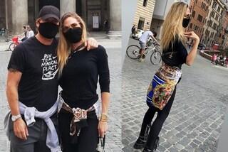 Ilary Blasi griffata per la prima uscita dopo la quarantena: gli accessori costano quasi 3mila euro