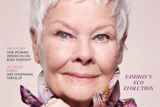Judi Dench, 85 anni e non sentirli: è la star più anziana ad aver posato sulla copertina di Vogue
