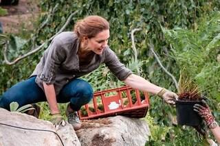 Kate Middleton nel giardino in jeans e sneakers: sogna di tornare alla normalità dopo la quarantena