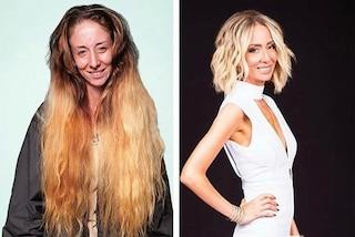 Non taglia i capelli da 20 anni, cambia look per le nozze: il parrucchiere mostra la trasformazione