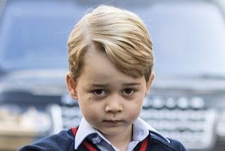 Il principino George ha fatto litigare i nonni: è lui il più conteso della Royal Family