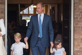"""George, Charlotte e Louis, la """"normalità"""" dei bambini reali: anche loro fanno i capricci a tavola"""