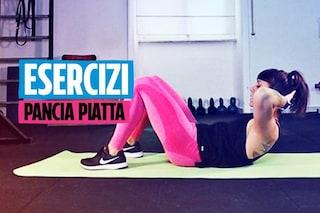 Gli esercizi per pancia piatta della fitness coach: la respirazione è importante per buoni risultati