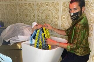 Federico Fashion Style, la permanente si fa da sdraiate: il nuovo trattamento per le beach waves