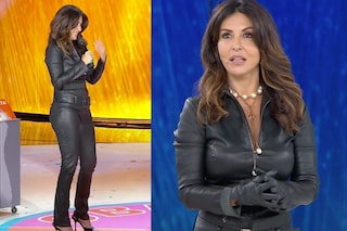 Amici Speciali: Sabrina Ferilli come Catwoman, con la tuta in pelle balla i trend di Tik Tok