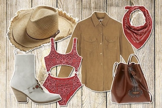 Tendenze moda per l'estate 2020: il must è il look Country Chic con la bandana e gli stivali